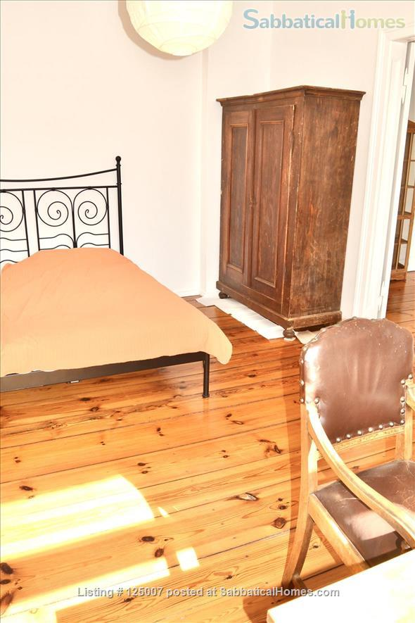 Sunny, calm, great view: Beautiful 2-room apt. in  Berlin-Kreuzberg Home Rental in Berlin, Berlin, Germany 3