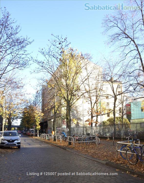 Sunny, calm, great view: Beautiful 2-room apt. in  Berlin-Kreuzberg Home Rental in Berlin, Berlin, Germany 7