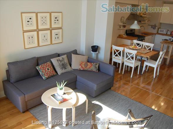 Sunny Floor-Through Duplex with Private Roof Deck August 2021 Home Rental in New York, New York, United States 1