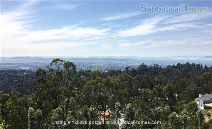 Large Family Home in the Oakland hills with Panoramic San Francisco Bay views • 3 bedrooms and 3 1/2 baths Home Rental in Oakland, California, United States 1