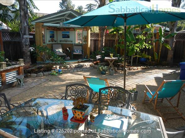 CASA DE LAS PALMAS , 3 br/2 bath  Fully furnished Beach-Style Cottage in Santa Barbara, CA Home Rental in Santa Barbara 9