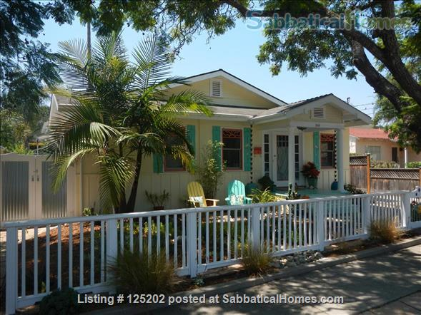 CASA DE LAS PALMAS , 3 br/2 bath  Fully furnished Beach-Style Cottage in Santa Barbara, CA Home Rental in Santa Barbara 1