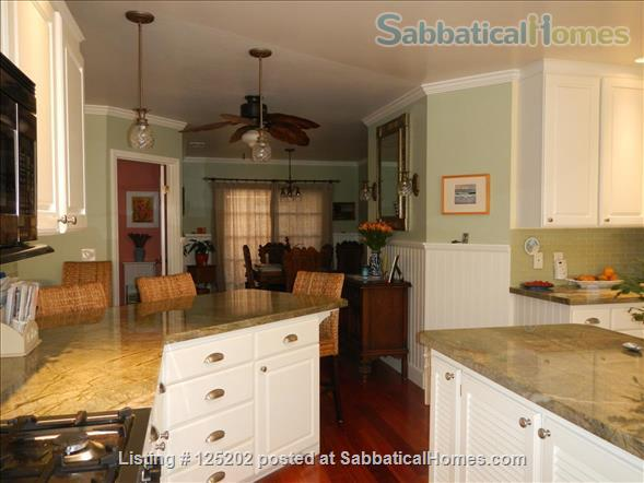 CASA DE LAS PALMAS , 3 br/2 bath  Fully furnished Beach-Style Cottage in Santa Barbara, CA Home Rental in Santa Barbara 3