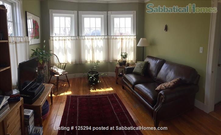 Cambridge Agassiz 3-Decker Top Floor -- Perfect Location / Fully Furnished Home Rental in Cambridge, Massachusetts, United States 1