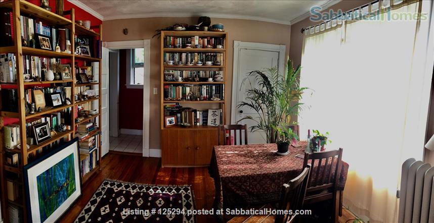 Cambridge Agassiz 3-Decker Top Floor -- Perfect Location / Fully Furnished Home Rental in Cambridge, Massachusetts, United States 2