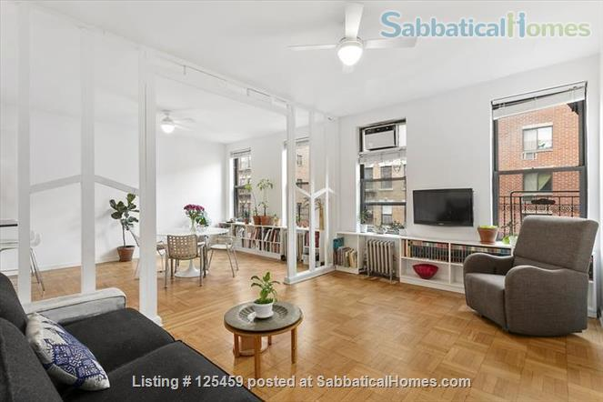 Architect's Harlem Sunny 2 BR Newly Renovated City College  Washer/Dryer Home Rental in New York, New York, United States 1