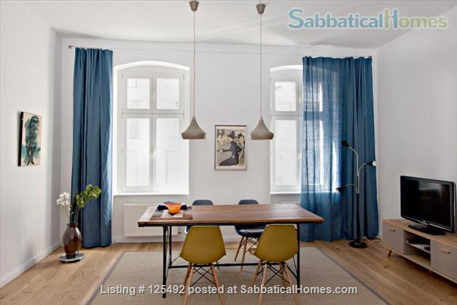 Spacious fully-furnished apartment in the heart of Berlin (Mitte) Home Rental in Berlin, Berlin, Germany 1
