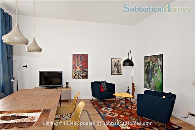 Spacious fully-furnished apartment in the heart of Berlin (Mitte) Home Rental in Berlin, Berlin, Germany 0