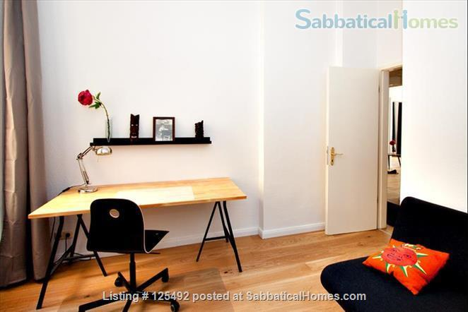 Spacious fully-furnished apartment in the heart of Berlin (Mitte) Home Rental in Berlin, Berlin, Germany 8