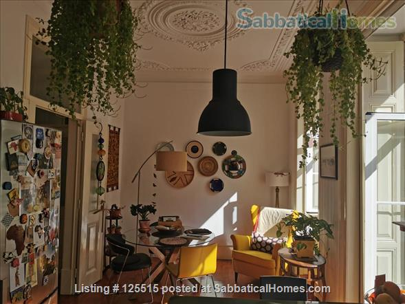 Stylish, luminous and spacious flat in a historical bairro Home Rental in Lisbon 1