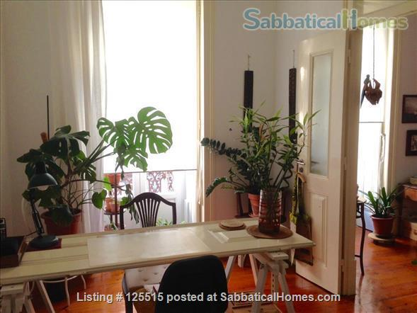 Stylish, luminous and spacious flat in a historical bairro Home Rental in Lisbon 0 - thumbnail