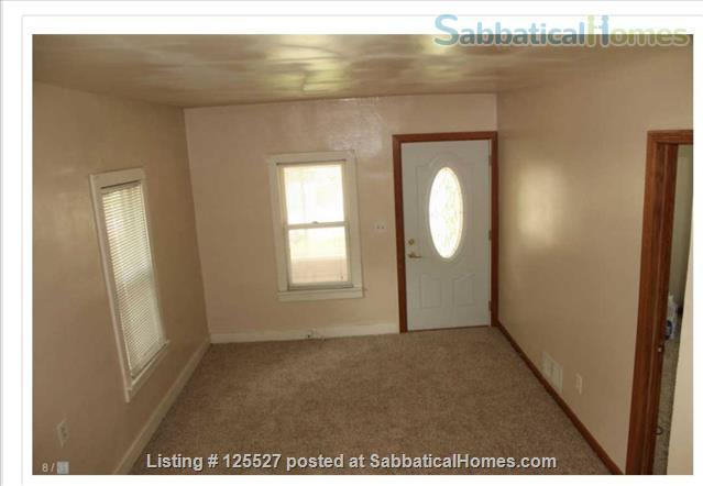 __¦Whole Furnished House w/Laundry, A/C, an Office, parking.  ¦__ Home Rental in Madison, Wisconsin, United States 3