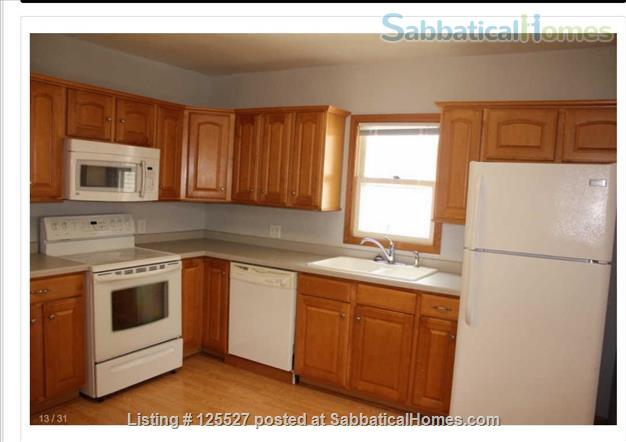 __¦Whole Furnished House w/Laundry, A/C, an Office, parking.  ¦__ Home Rental in Madison, Wisconsin, United States 4