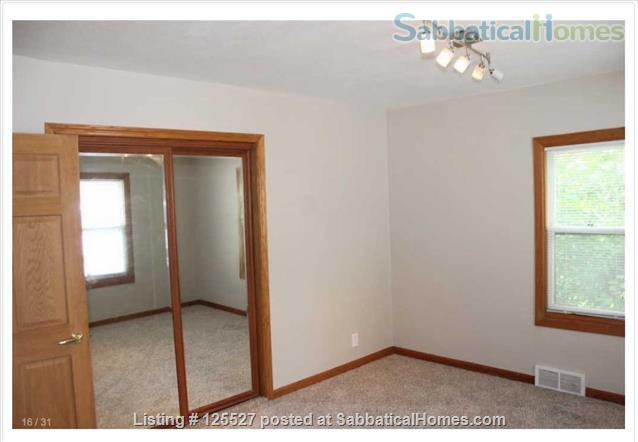 __¦Whole Furnished House w/Laundry, A/C, an Office, parking.  ¦__ Home Rental in Madison, Wisconsin, United States 5