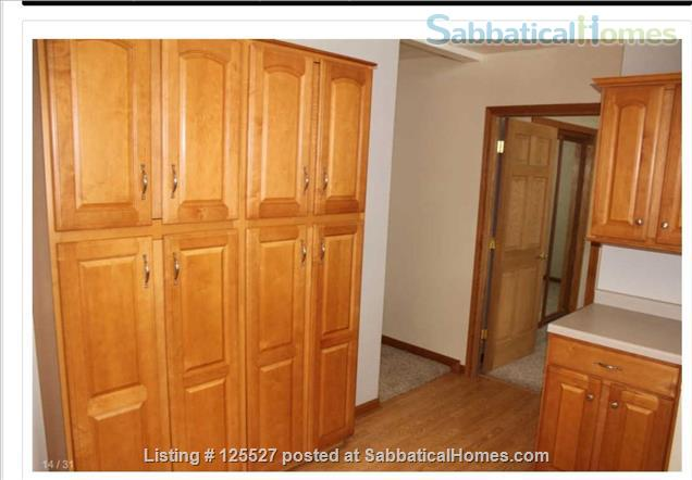 __¦Whole Furnished House w/Laundry, A/C, an Office, parking.  ¦__ Home Rental in Madison, Wisconsin, United States 8