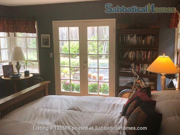 Adorable Carmel Cottage Near Stanford University Home Rental in Menlo Park, California, United States 5