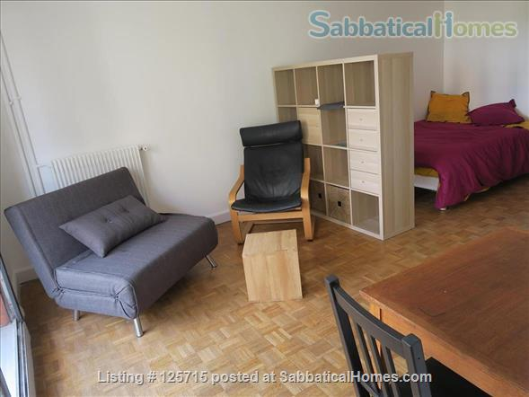 LOVELY STUDIO WITH BALCONY IN PARIS, NEXT TO BELLEVILLE ST Home Rental in Paris-19E-Arrondissement, Île-de-France, France 0