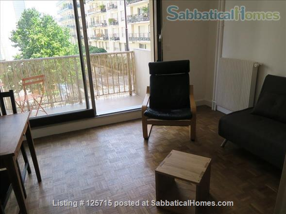 LOVELY STUDIO WITH BALCONY IN PARIS, NEXT TO BELLEVILLE ST Home Rental in Paris-19E-Arrondissement, Île-de-France, France 2