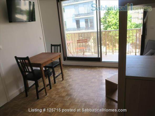 LOVELY STUDIO WITH BALCONY IN PARIS, NEXT TO BELLEVILLE ST Home Rental in Paris-19E-Arrondissement, Île-de-France, France 3