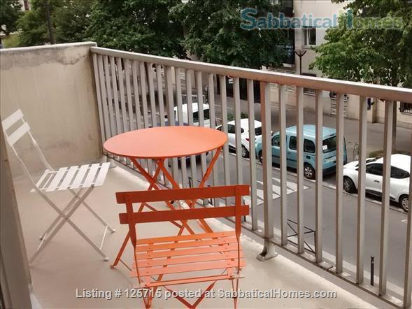 LOVELY STUDIO WITH BALCONY IN PARIS, NEXT TO BELLEVILLE ST Home Rental in Paris-19E-Arrondissement, Île-de-France, France 8