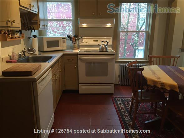 Sunny, spacious 2nd floor, 1-bed, 5-room furnished home, 2 mi from Harvard Home Rental in Watertown, Massachusetts, United States 1