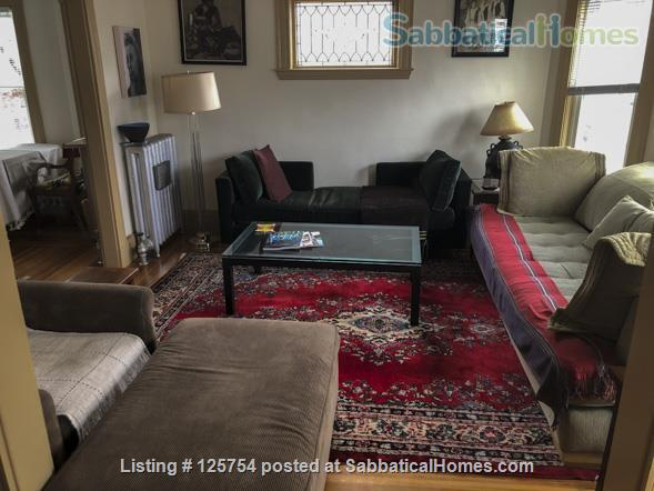 Sunny, spacious 2nd floor, 1-bed, 5-room furnished home, 2 mi from Harvard Home Rental in Watertown, Massachusetts, United States 0