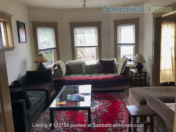 Sunny, spacious 2nd floor, 1-bed, 5-room furnished home, 2 mi from Harvard Home Rental in Watertown, Massachusetts, United States 3