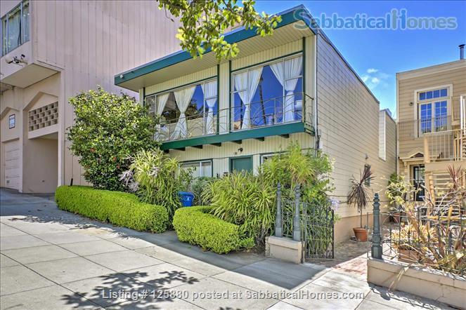 large, PET-SAFE mid-century in SF's Noe Valley, garage, 95 walk score! All utilities paid! Home Rental in San Francisco, California, United States 9