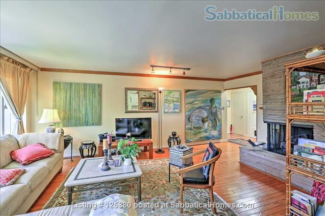 large, PET-SAFE mid-century in SF's Noe Valley, garage, 95 walk score! All utilities paid! Home Rental in San Francisco, California, United States 1
