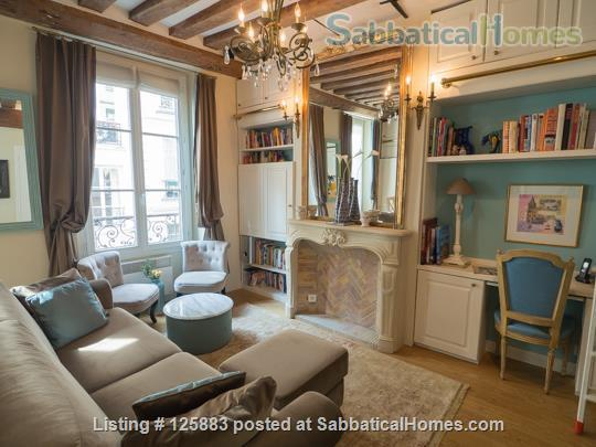 1-bedroom luxury apartment in the Marais, Paris, France Home Rental in Paris 7