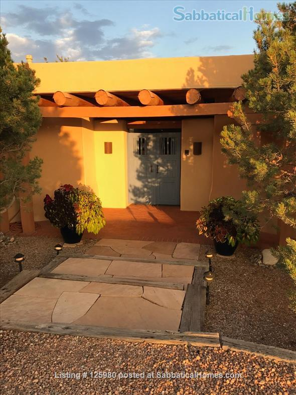 Family home with views and casita in Santa Fe, NM Home Rental in Santa Fe 1