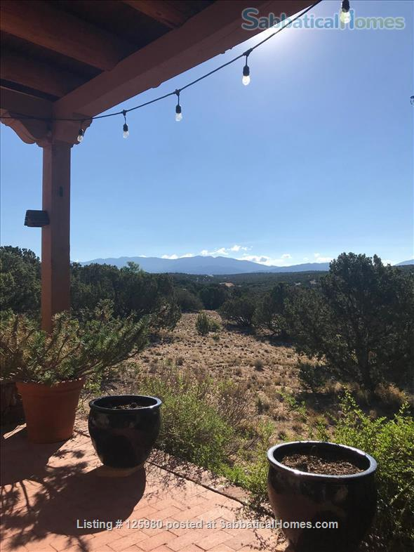 Family home with views and casita in Santa Fe, NM Home Rental in Santa Fe 4