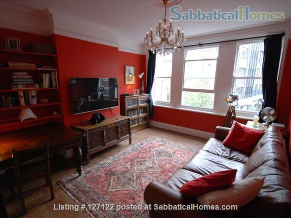 Characterful 1 bed flat in period Fitzrovia mansion block with roof terrace. Home Rental in Fitzrovia, England, United Kingdom 1