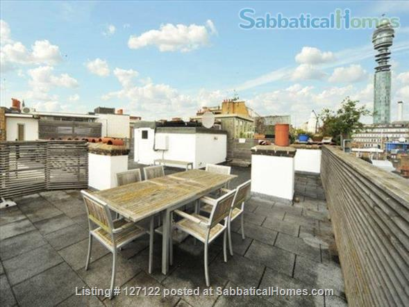 Characterful 1 bed flat in period Fitzrovia mansion block with roof terrace. Home Rental in Fitzrovia, England, United Kingdom 8