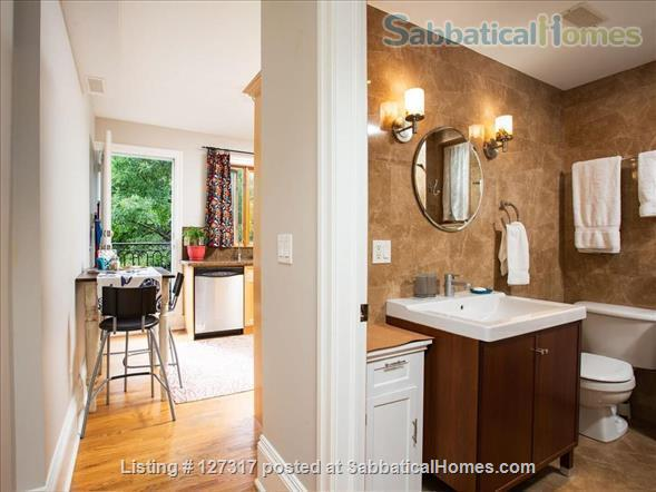 "Three bedroom duplex, "" Gem in the city"" on a quiet leafy street, walkable access to everything! Home Rental in Toronto, Ontario, Canada 7"