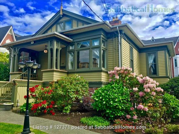 Walk to inner harbour. 2 Bdrm fully furnished suite  (with parking)  in Heritage Inn  Home Rental in Victoria, British Columbia, Canada 1