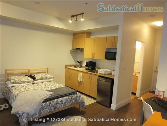 UBC On-Campus Furnished Studio - Available September 1, 2021 Home Rental in Vancouver, British Columbia, Canada 0