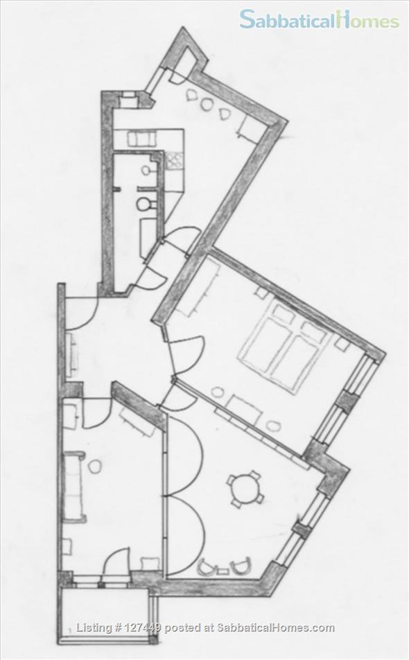 Beautiful recently renovated furnished 3 room apartment in Berlin Steglitz/Friedenau Home Rental in Berlin, Berlin, Germany 9