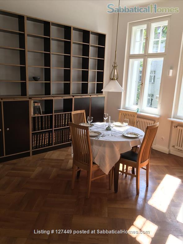 Beautiful recently renovated furnished 3 room apartment in Berlin Steglitz/Friedenau Home Rental in Berlin, Berlin, Germany 1