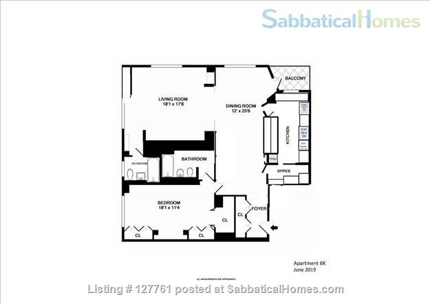 Spacious1 BR or 2BR (Lenox Hill, furnished or unfurnished) Home Rental in New York, New York, United States 6