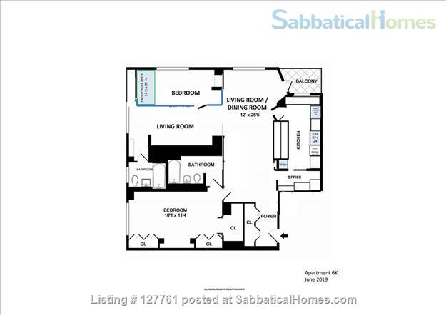 Spacious1 BR or 2BR (Lenox Hill, furnished or unfurnished) Home Rental in New York, New York, United States 8