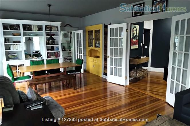 Brookline / Longwood medical area 3BR home, sunny, open, w/ private roof deck Home Rental in Brookline 3 - thumbnail