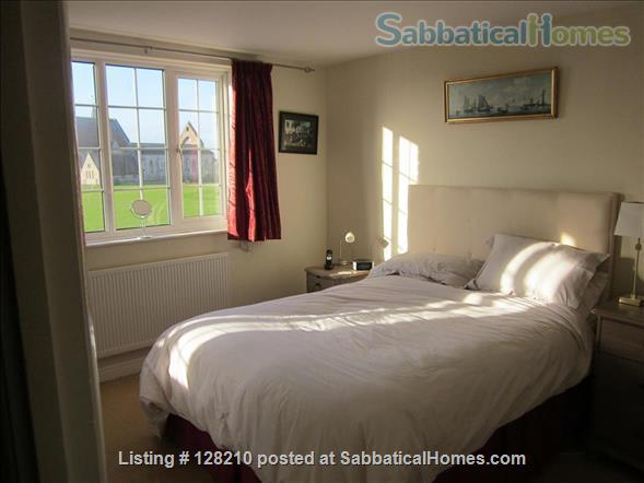 Renovated seafront four double bedroom house in historic Old Portsmouth 90 minutes by train to London.   Home Rental in Portsmouth, England, United Kingdom 6