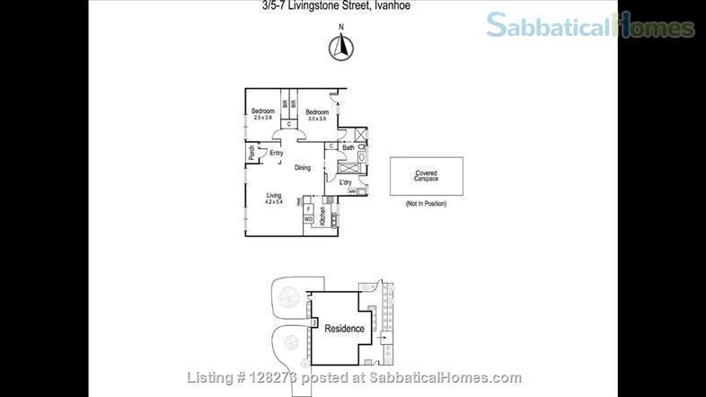 Fully furnished 2 bedroom villa unit in Ivanhoe Home Rental in Ivanhoe, Victoria, Australia 9