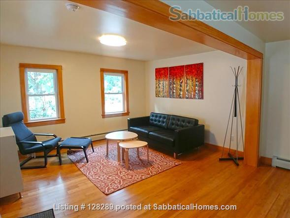 Furnished 2-bedroom house walking distance to Cornell, Commons, Farmers Market Home Rental in Ithaca, New York, United States 1