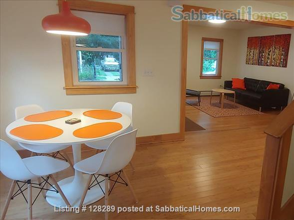 Furnished 2-bedroom house walking distance to Cornell, Commons, Farmers Market Home Rental in Ithaca, New York, United States 0