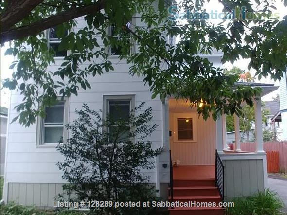 Furnished 2-bedroom house walking distance to Cornell, Commons, Farmers Market Home Rental in Ithaca, New York, United States 8