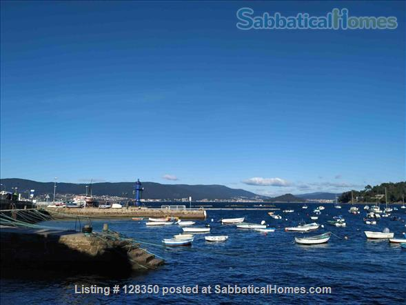 FLAT AT  FISHING TOWN TO WRITE  , REST , NICE WALKS Home Rental in Marín, GA, Spain 9