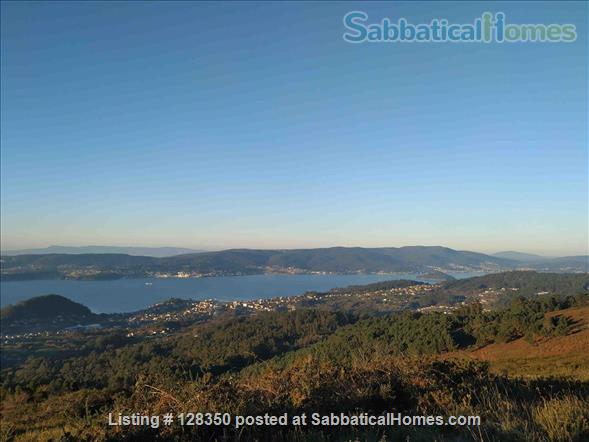 FLAT AT  FISHING TOWN TO WRITE  , REST , NICE WALKS Home Rental in Marín, GA, Spain 1