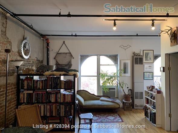 East Williamsburg Furnished Loft,  Flexible Dates Home Rental in Kings County, New York, United States 1